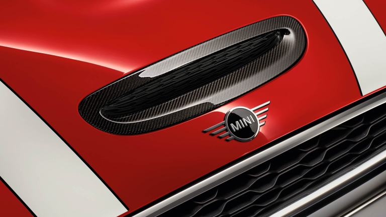 JCW air inlet trim carbon