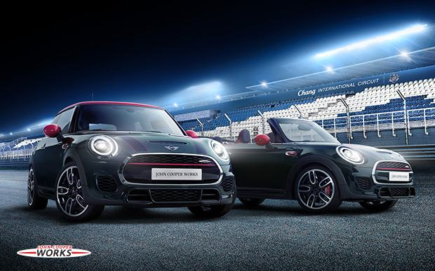 MINI JOHN COOPER WORKS TRACK DAYS & NIGHTS